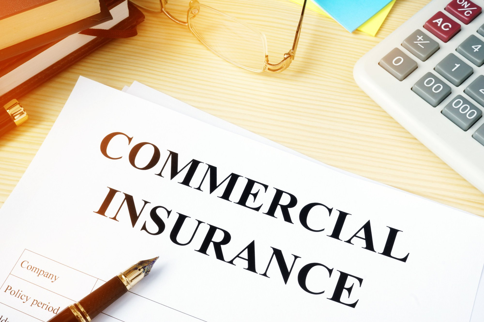 Commercial insurance types and classifications