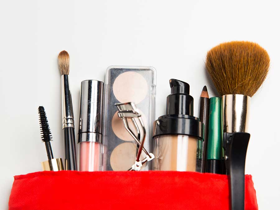 Essential makeup products