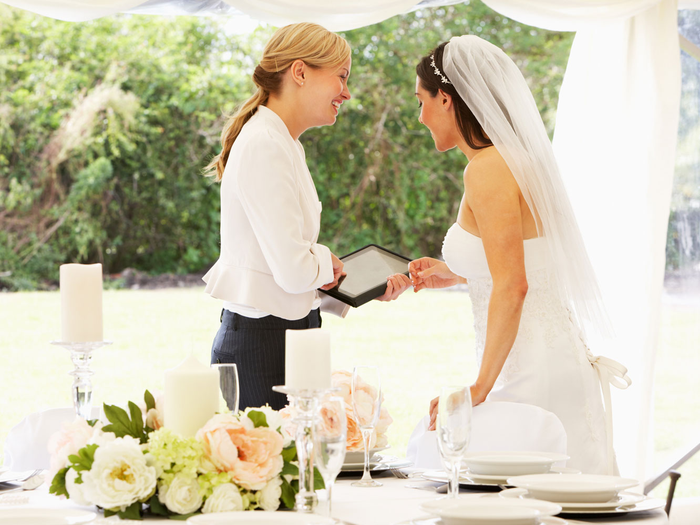 Things to plan for a wedding